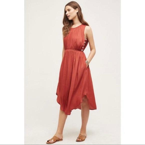 Anthropologie Dolan Costa Midi Dress - S Petite